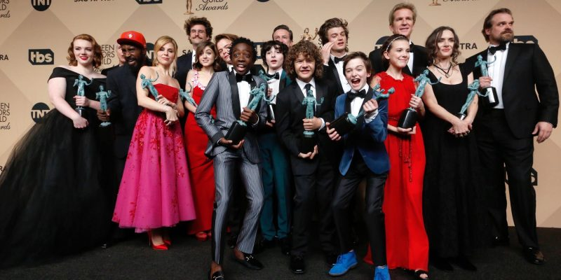 'Stranger Things' Receives SAG and Golden Globes Nomination!