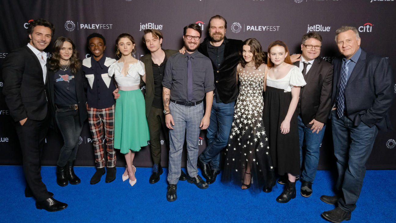 Winona Ryder and 'Stranger Things' Cast at Paleyfest LA